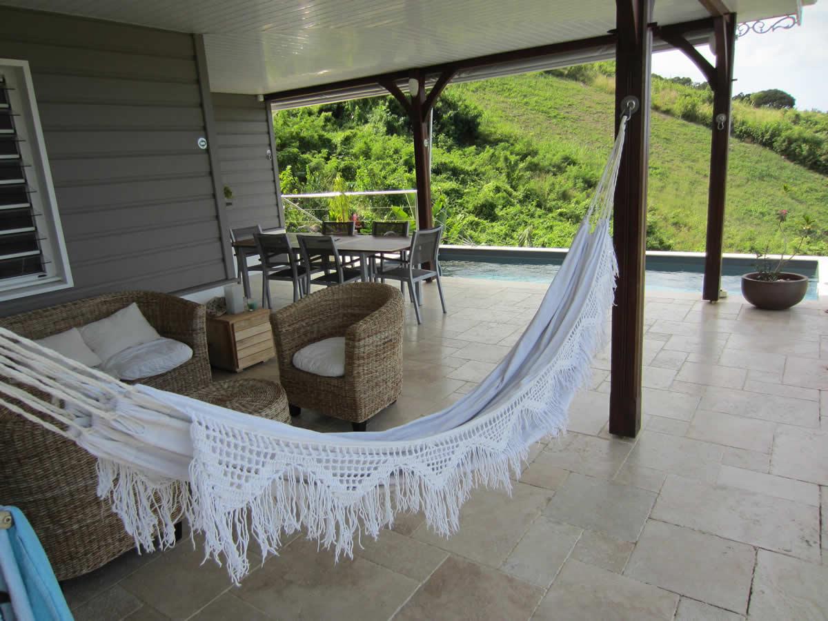Jardin De La Villa En Location Saisonniere Située Martinique